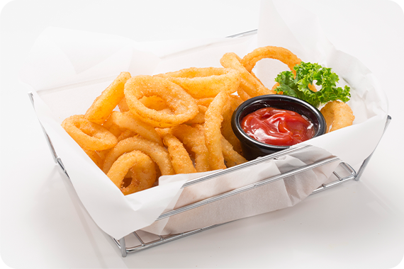 Broaster Express Onion Rings