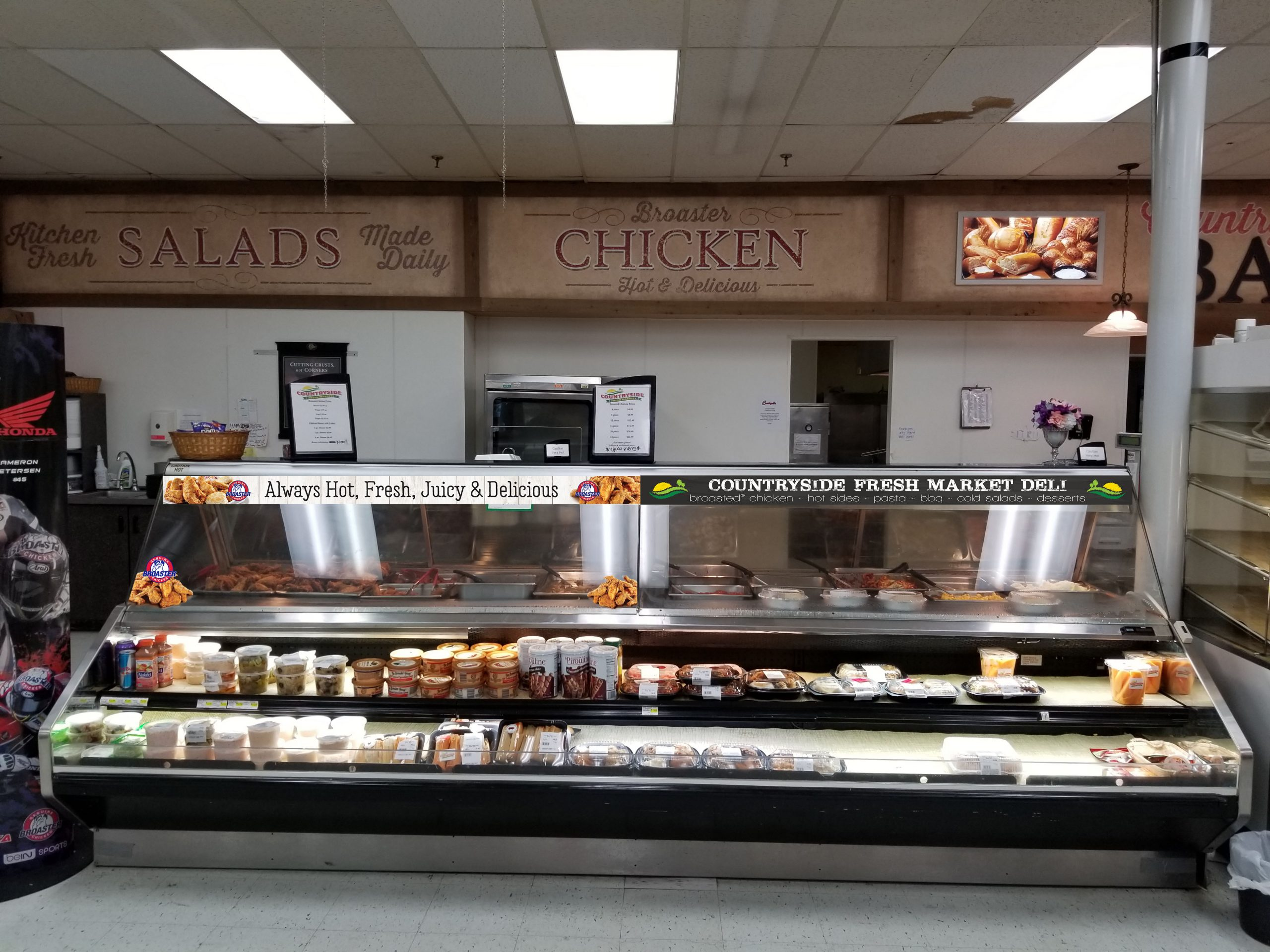 grocery store deli counter