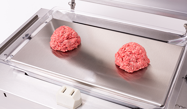 Instant Burger raw meat