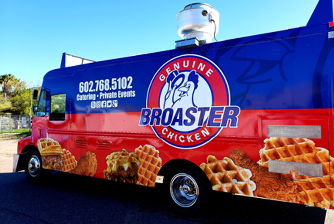 Food Truck offerings by Broaster Company