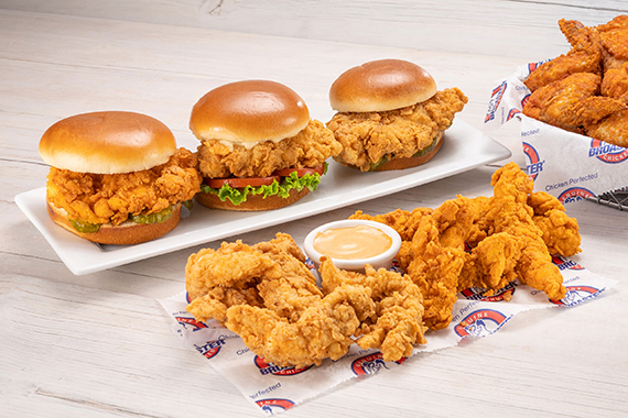 Broaster Chicken sandwiches, wings and tenders near me