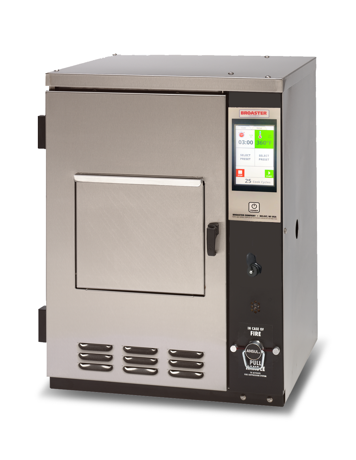 Ventless fryer with smart touch from Broaster