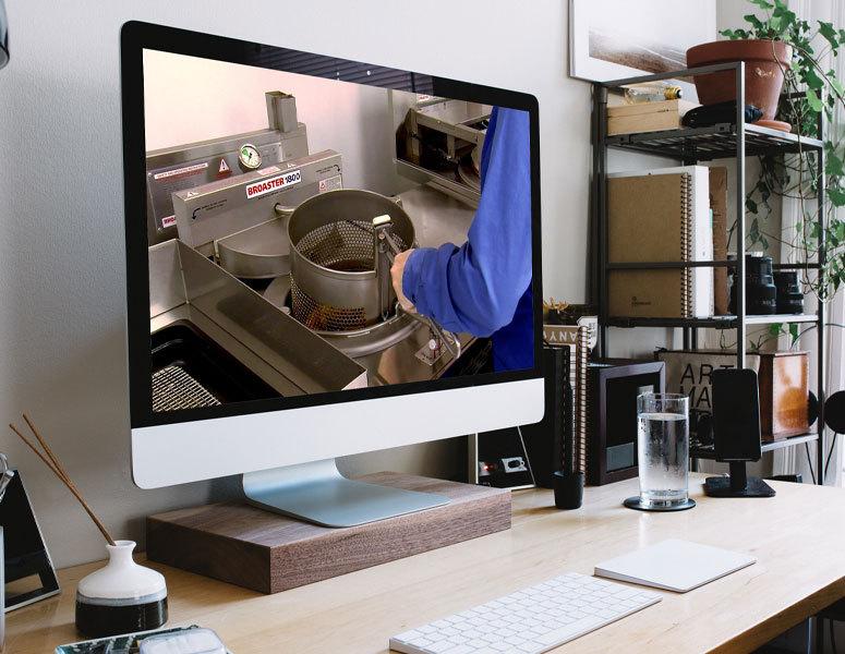 Virtual Cooking Demos