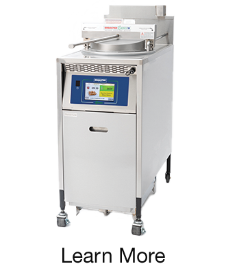 E series pressure fryer from Broaster